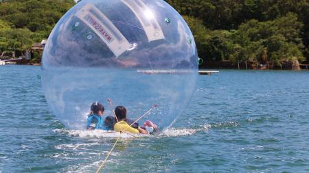 夏季の『NWWA®ウォーターボール® de 自然体験』の開始時間について